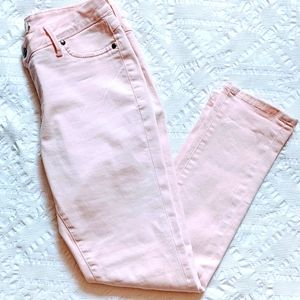 Campbell Chase Pastel Pink Jeggings